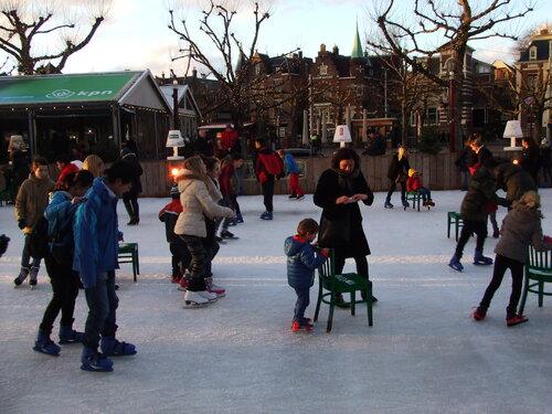 Amsterdam 2014: A la patinoire