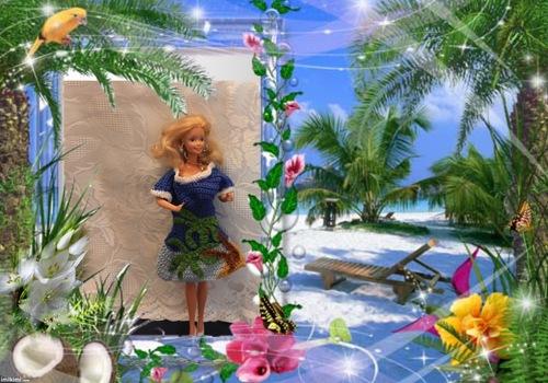 Barbie défilé caraîbes 2016