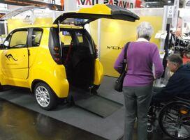 Véhicules électriques sans permis spécialement conçus pour les conducteurs en fauteuil roulant
