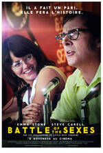Affiche Battle of the Sexes