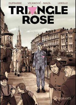 Triangle rose - BD de Michel Dufranne, Milorad Vicanovic et Christian Lerolle (2011)