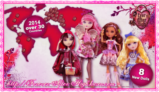 ever after high-2014 dolls