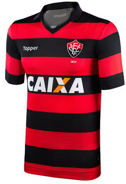Maillots de foot EC Vitória 2017 2018 Pas Cher