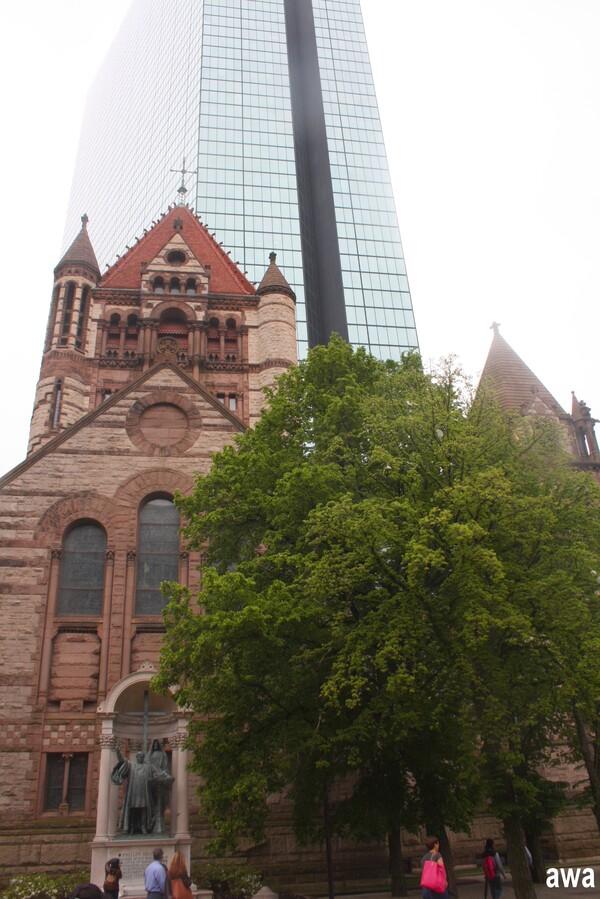 En mai 2016, après le Canada, les Etats-Unis : Boston 2