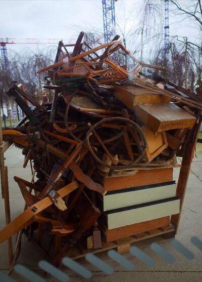 Décharge sauvage de bois au Pompidou - Mystère résolu