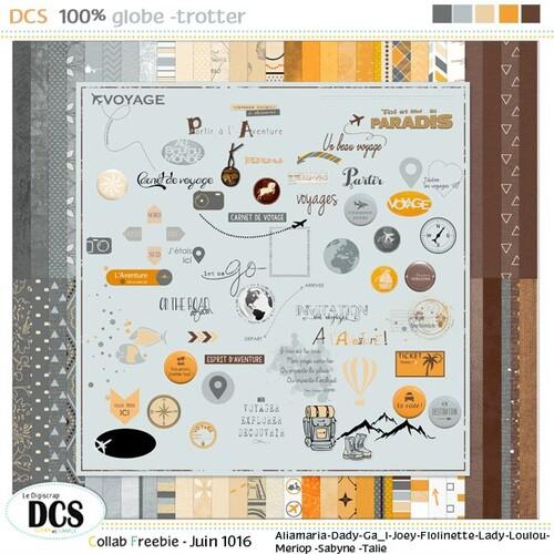 Chez DCS Nouveau kit: DCS 100% globe-trotter