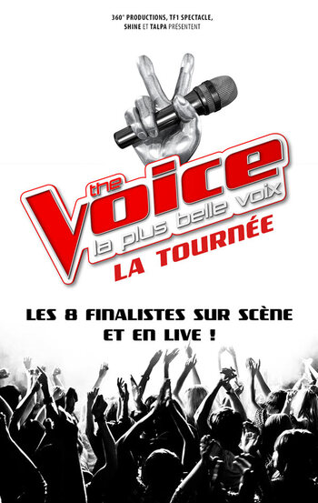 The Voice, la Tournée