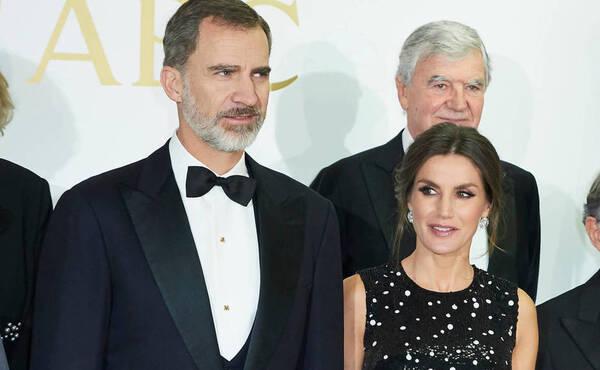 Felipe et Letizia le 17 décembre