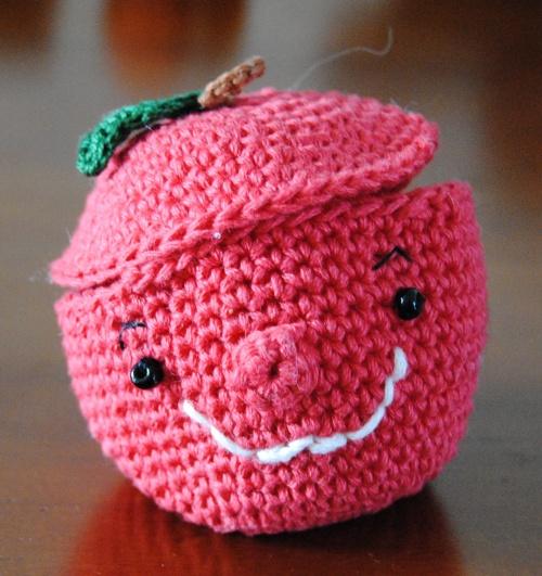une pomme à secrets!!