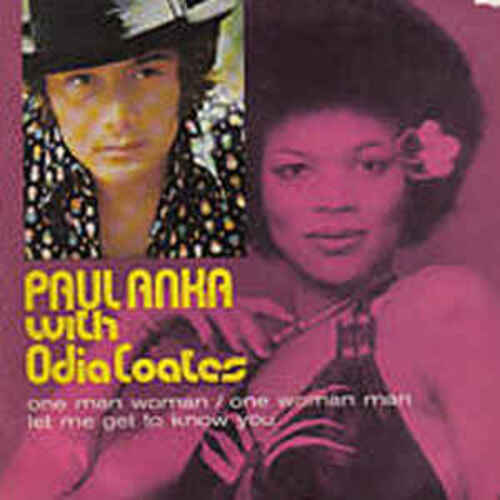 ANKA, Paul - One Man Woman, One Woman Man, feat. Odia Coates (Spectacles musicaux)