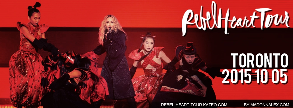 Madonna - The Rebel Heart Tour Toronto 10 05