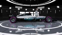 Mercedes AMG Petronas F1 Team - Lewis Hamilton