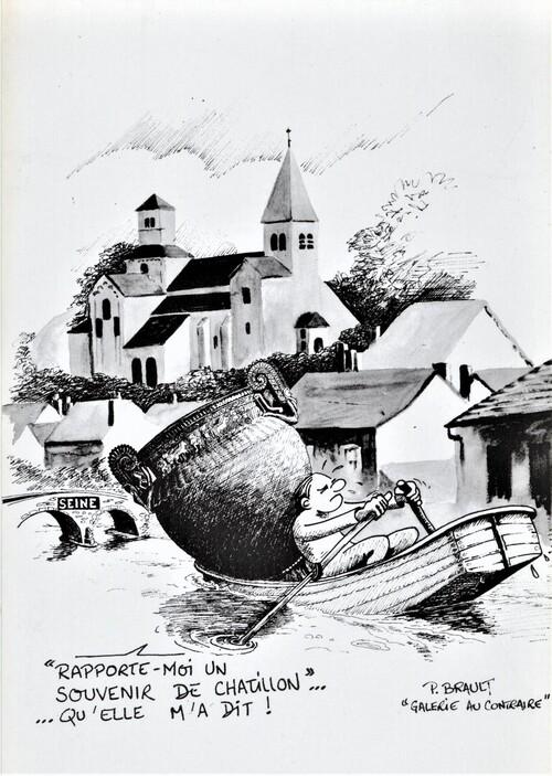 """Le vase de Vix et ses """"avatars"""", un notule génial de Dominique Masson, bien de circonstance en cette période de fouilles du tumulus où il fut découvert...."""