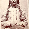 Chief Con-Reeh (Crow King). Hunkpapa Lakota. 1880. Photo by D.F. Barry. Source - National Anthropolo
