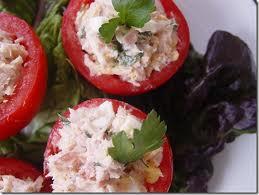 - Tomates farcies au jambon