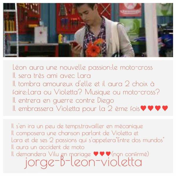 Attention infos sur la saison 2 de violetta mi vida violetta - Violetta saison 2 personnage ...