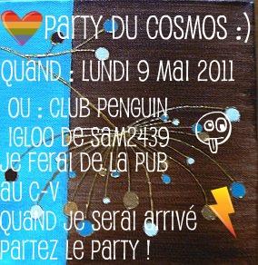 Party cosmos