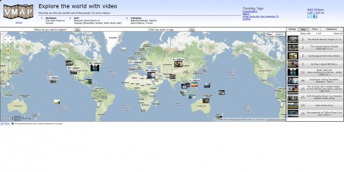 Explore the world with video