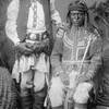 Nalte and Gud-i-zz-ah. White Mountain Apache men from San Carlos, Arizona. 1883. By Frank A. Randall