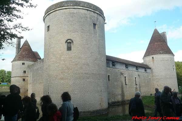 Rencontres médiévales au château de Posanges, dans l'Auxois