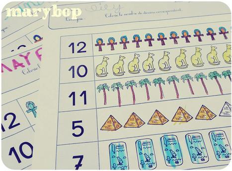Egypte -mathématiques