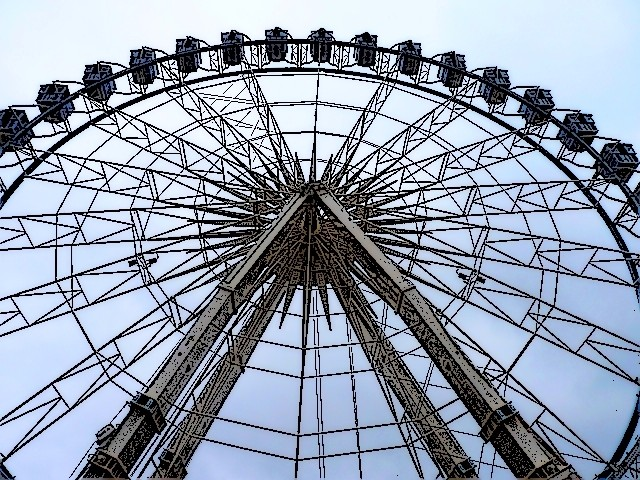 Grande roue de Noël de Metz 6 mp1357 2010
