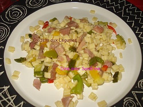 Crozets aux légumes 5