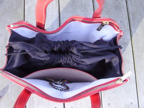 Customisation sur un sac à main