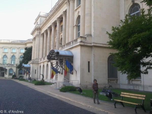 Bucarest, Musée (Brancusi)