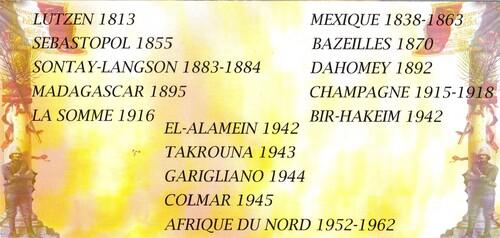1er RAMA - Cérémonie de commémoration du 72e Anniversaire des Combats de Bir Hakeim le 10 Mai 2014