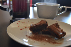 Cheesecake au café