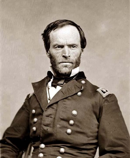 Le major général William T. Sherman