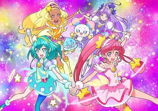 Nouveau site de Pretty Cure
