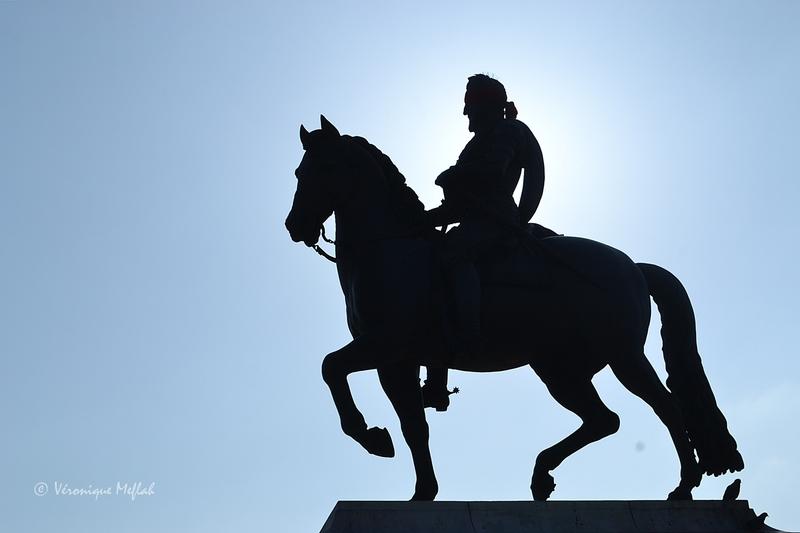 La statue équestre d'Henri IV (Pont Neuf)