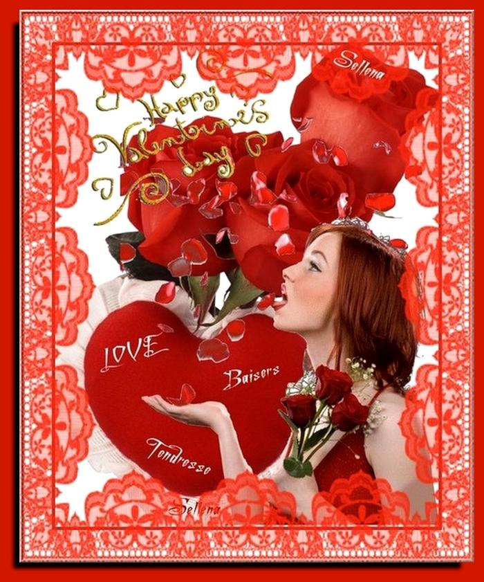 **Bientôt la Saint Valentin**