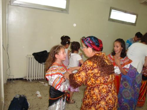 Photos des coulisses-Fête de fin d'année-20 juin 2011