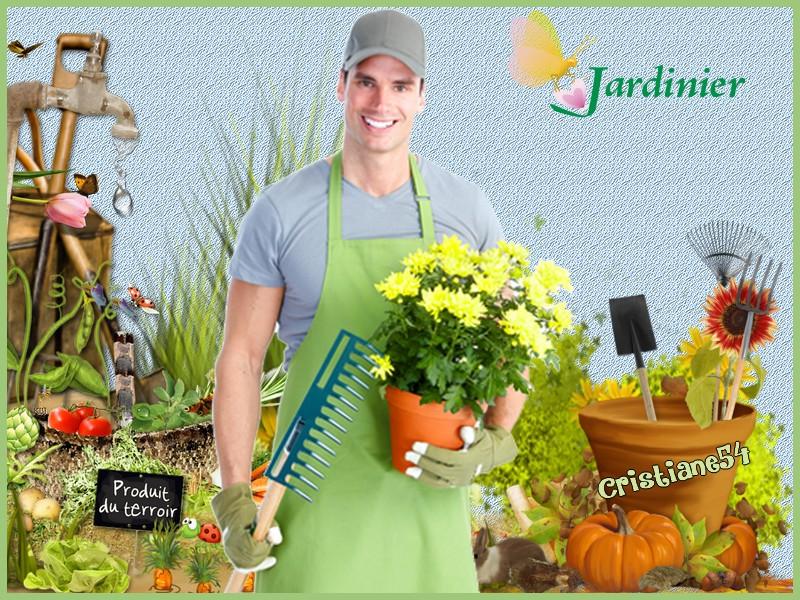 un défi pour Marjolaine ( Le jardinier )