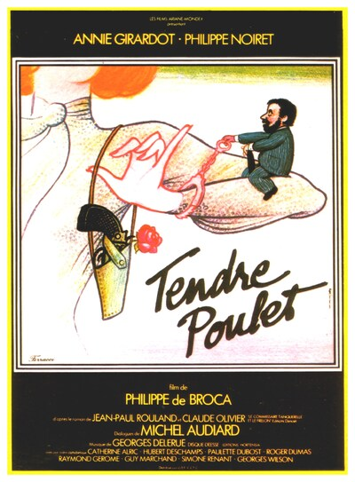 BOX OFFICE PARIS DU 18/01/1978 AU 24/01/1978 : TENDRE POULET