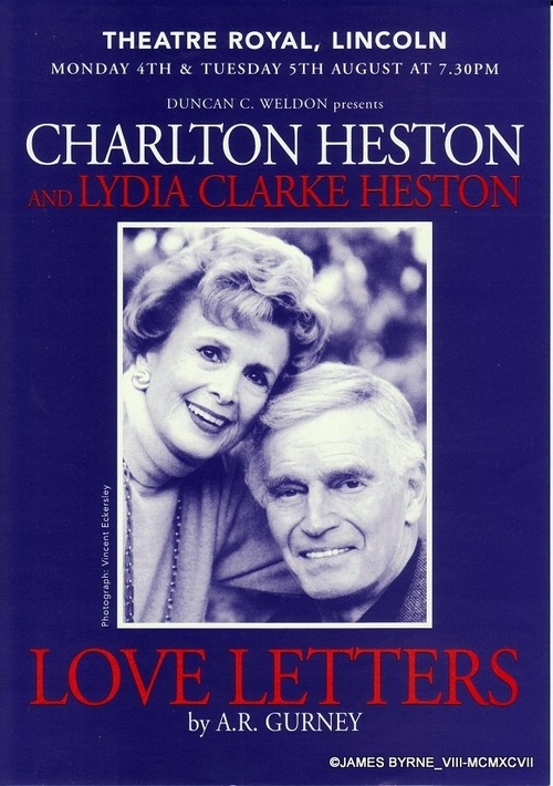 CHARLTON ET LYDIA HESTON A LINCOLN (photos)