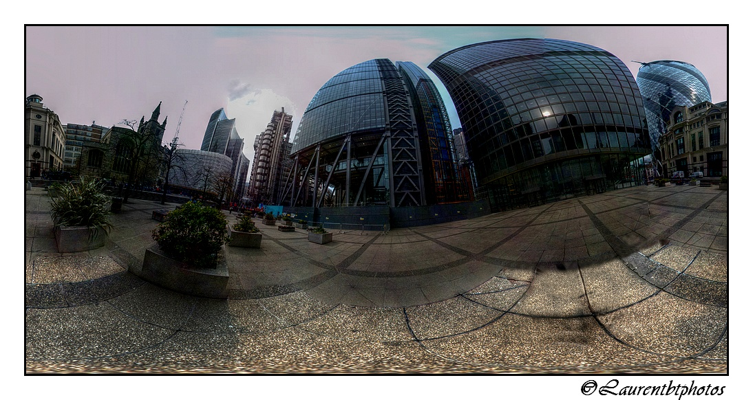 La City en panoramique 360°