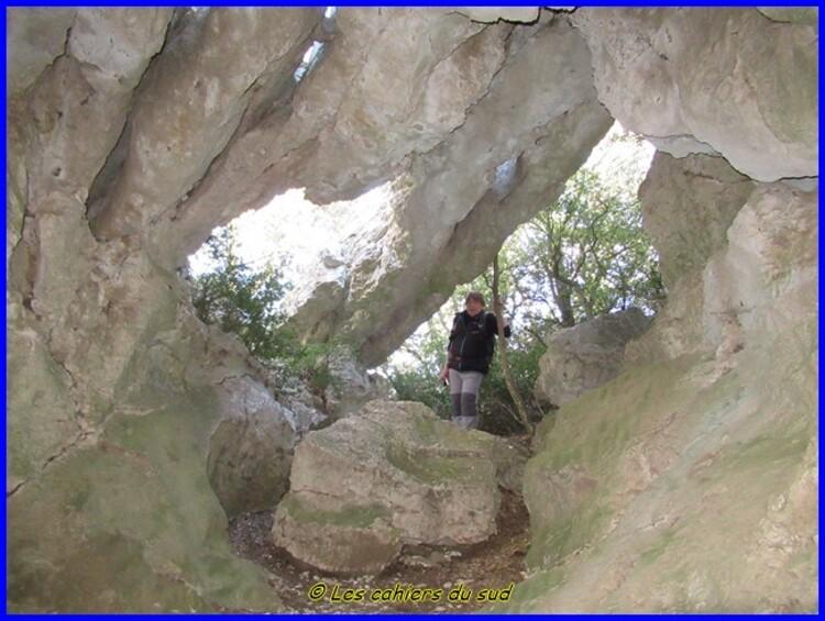 Luberon, les gorges de Badarel
