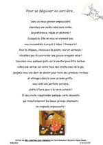 Rallye-liens Halloween* Poésies et album...