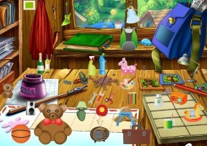 Hidden objects - Messy house