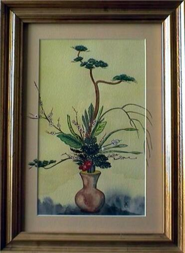 Mes peintures Florales