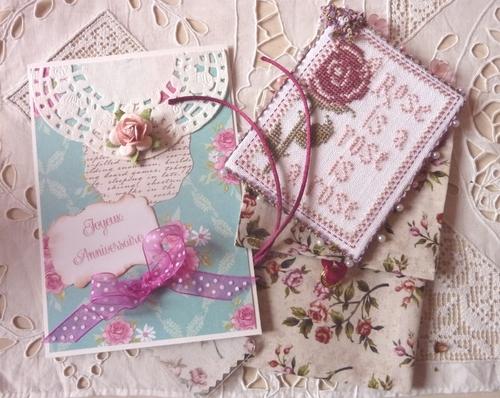 Carte, pinkeep et pochette