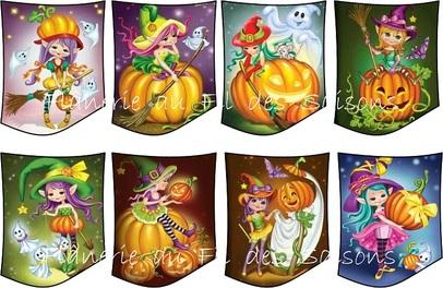 Halloween ! cartonnettes