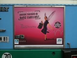 Campagne d'affichage Libellus