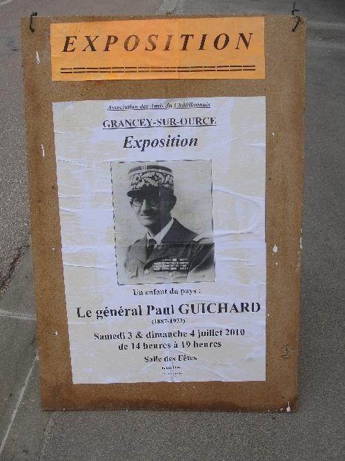-Le Général Guichard de Grancey sur Ource