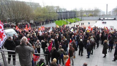 Finistère-Bilan des manifestations du 9 avril pour le retrait de la loi travail