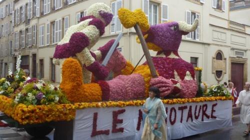 Bestiaire fantastique du Corso fleuri